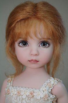 Дианна Effner's дорогая кукла с телом на шарнирах судьба