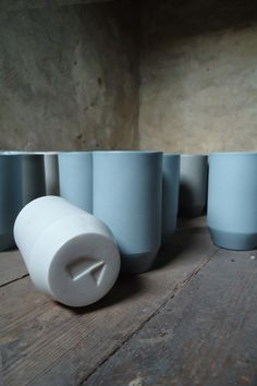 Cups by Cedric Koppers Toilet Paper, Cups, Objects, Porcelain, Personal Care, Ceramics, Ceramica, Mugs, Porcelain Ceramics