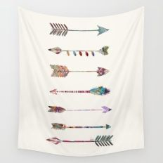Wall Tapestry featuring Seven Arrows by Bri.buckley