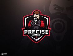 Precise Gaming by Derrick Stratton @dasedesigns - LEARN LOGO DESIGN  @learnlogodesign @learnlogodesign - Want to be featured next? Follow us and tag #logoinspirations in your post Logo Desing, Game Logo Design, Badge Design, Best Logo Design, Branding Design, Logo Branding, Logo Dragon, Learning Logo, Logo Shapes