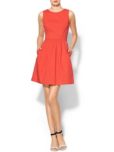Open Back Fit N Flare Dress Product Image