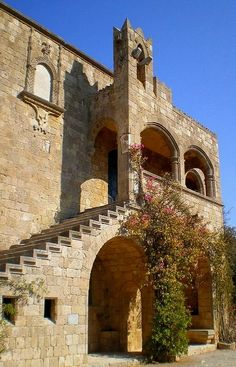 Archaelogical Museum In Rhodes Island, Greece