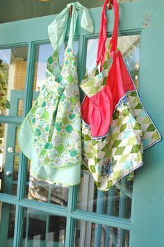 Vintage aprons . . .