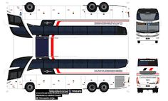 Convoy Semi Truck Papercraft | Sejam Bem Vindos ao meu Blog!!!: MARCOPOLO PARADISO 1600 G7 VIAÇÃO ...