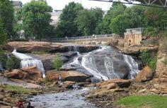 Greenville SC Falls Park on The Reedy River