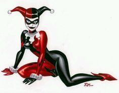 Bruce Timm Harley Quinn