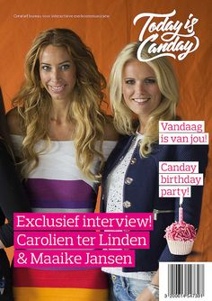 Canday Cover: Carolien ter Linden & Maaike Jansen - Canday 1e Birthday Party