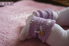 sonnengedanken: MSÜ-BOX #5 - Gehäkelte Babystulpen