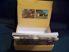 2 Boxes of 10 John Deere cards, blank - for thank you, greeting, birthday (2007) #JohnDeere #AnyOccasion