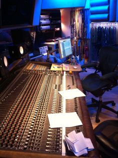Recording at Eastcote Studios