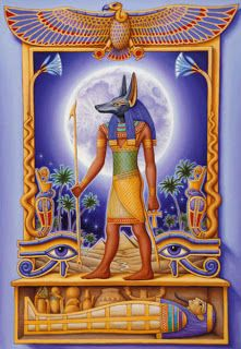 Anubis: Egyptian God Son of Nephthys and Set Husband of Anput Guardian of Isis Jackal-headed God of Protection