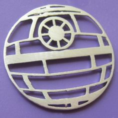 Star Wars Death Star Pin by sudlow on Etsy, $34.00