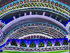 Merci Perci | Tribal Headpieces | Melbourne | Australia | Melbourne Australia, Headpieces, Ferris Wheel, Artworks, Fair Grounds, Travel, Inspiration, Biblical Inspiration, Fascinators