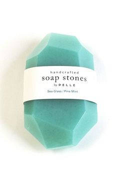 30 Apartment Buys To Spend That Bonus On This limited-edition mint soap stone by Pelle is the definition of classy.