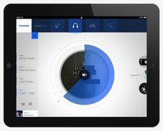 wave ||||  iPad application by Gianpaolo Tucci, via Behance