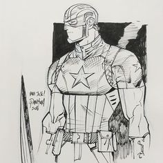 Captain America by Dan Mora #captainamerica #sdcc2016