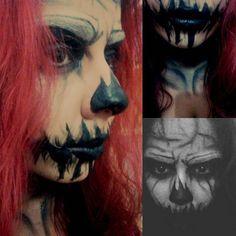 #makeup #halloweenmakeup #artistmakeup #maquiagemartistica #darkmakeup