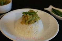 My food My life : Joys from the kitchen garden - Jhinge Posto (Ridge gourd with poppy seeds)