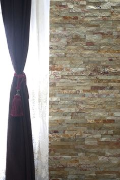 Travertine, Granite, Natural Stones, Room Decor, Curtains, Decorating, Living Room, Inspiration, Home