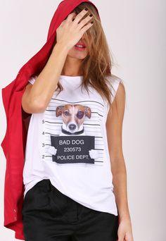 Dog Gone Woof Sleeveless Shirt