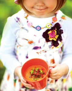 Gazpacho Gazpacho, Yummy Food, Vegan, Soups, Recipes, Smooth, Summer, Red Peppers, Summer Time