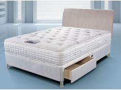 Sleepeezee Cool Comfort 2000 King Size Divan Bed from £713.15