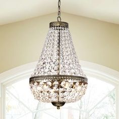 Symmetric 6-light Antique Copper Chandelier | Overstock.com Shopping - The Best Deals on Chandeliers & Pendants