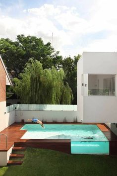 Awesome Shipping Container Pool Design & Ideas #hottubs #water #design #smallbackyard #deck #families #Landscaping #garden #architecture #patio #yards #home