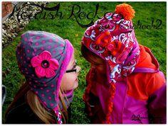 Freebook Norish Rockers - Wintermütze für Kinder