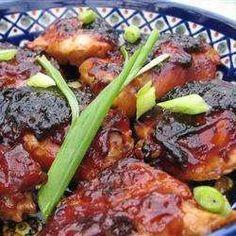 Receta de Pollo agridulce al horno - Recetas de Allrecipes