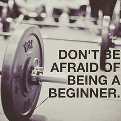 Health Motivation We were all beginners - embrace that first step - Garage gym, fitness, and Crossfit image gallery. These are motivational and fun images that I find and I take no credit for them. So share and pin away! Fitness Workouts, Fitness Club, You Fitness, Fitness Goals, Fitness Tips, Health Fitness, Trainer Fitness, Personal Fitness, Workout Tips