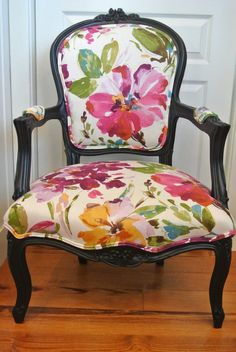 Fabulous French Arm Chair by ChairWhimsy on Etsy