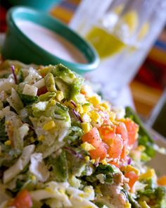 Sunday Dinner: Easter leftovers for a Cobb salad recipe!