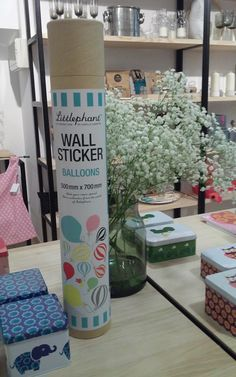 vinilos de la marca #Littlephant en la bonita tienda Hëme en La coruña #estilonordico