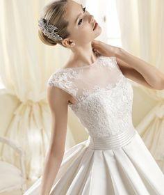 Coleção #Noivas La Sposa 2014 modelo IOLANDA #casarcomgosto