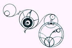 "Awwww! ""I will Love you Forever,"" in Gallifreyan. That's it, I'm getting this tatooed somewhere! xD"