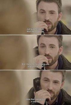 This made me so sad!! NickVaughn (Chris Evans) - Before we go