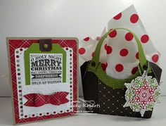 Merry Christmas Card & Gift Packaging