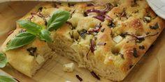 Focaccia Ciabatta, Quiche, Banana Bread, Mashed Potatoes, Vegan Recipes, Cheese, Baking, Breakfast, Ethnic Recipes