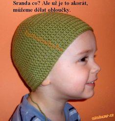 Háčkovaná čepička - super návod Crochet, Blog, Charts, Creative, Graphics, Ganchillo, Blogging, Graph Of A Function, Crocheting