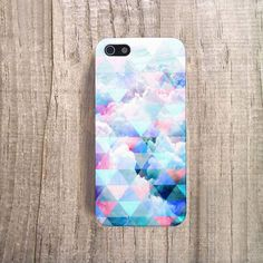 PASTEL iPhone Case Clouds iPhone Case Pastel by casesbycsera, $19.99