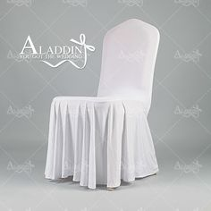 Wholesale Cheap White Polyester / Spandex Fabric Universal Chair Covers For…