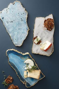 Agate Cheese Board | Anthropologie Resin Crafts, Resin Art, Diy Crafts, Home Decor Accessories, Decorative Accessories, Kitchen Accessories, Decorative Accents, Anthropologie Gifts, Anthropologie Christmas