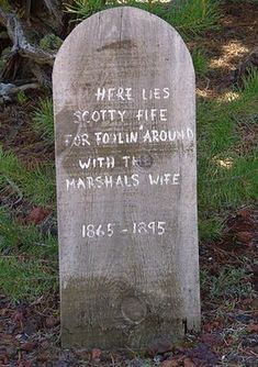 Image detail for -... use this opportunity to make people laugh by making a funny tombstone