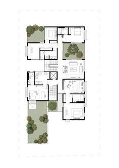 Box House,First Floor Plan
