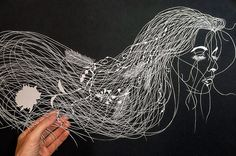 Incredibly Detailed Hand-Cut Paper Art By Maude White