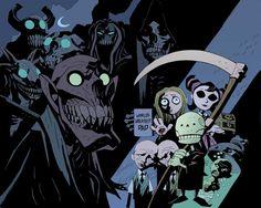 Death Jr. - Comic Book Artist: Mike Mignola | Abduzeedo Design Inspiration