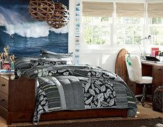 I love the PBteen Ultimate Surf Bedroom on pbteen.com