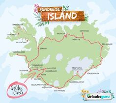 Route, tips and information for a tour of Iceland Vacation guru - For a relaxed Iceland round trip, on which you circle the island on the ring road, I recommend - Bahamas Honeymoon, Romantic Honeymoon, Romantic Travel, Honeymoon Iceland, Honeymoon Ideas, Europe Destinations, Road Trip Europe, Iceland Travel, Round Trip