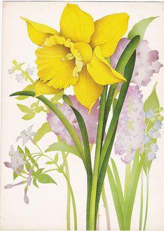 VINTAGE estampas de flores 5